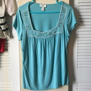 Beaded Loft shirt excellent condition